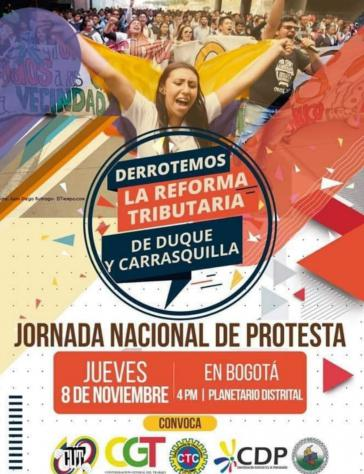 Ein breites Bündnis hat für den heutigen Donnerstag zu Protesten gegen das von der Regierung geplante Steuergesetz aufgerufen