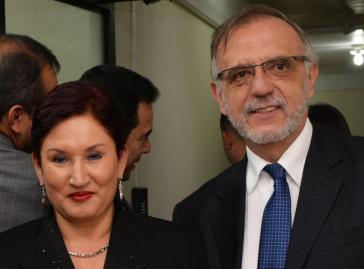 Thelma Aldana und Iván Velásquez erhalten den Alternativen Nobelpreis für ihren Einsatz gegen die Korruption in Guatemala (Foto von 2014)
