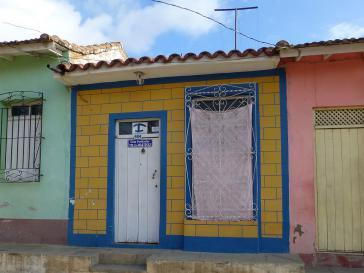 Casa particular, eine Privatunterkunft für Touristen in Trinidad, Kuba