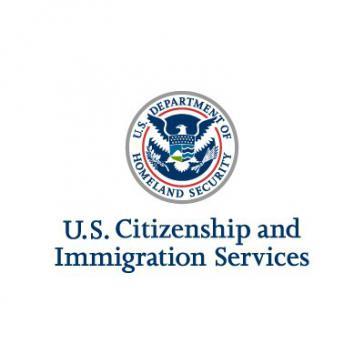 Logo der U.S. Citizenship and Immigration Services (USUCS). Die Behörde hat ihr Büro on Havanna geschlossen
