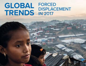 Laut UNHCR sind weltweit insgesamt 68,5 Millionen Menschen auf der Flucht. Kolumbien ist mit 7,7 Millionen das Land mit den weltweit meisten Binnenflüchtlingen