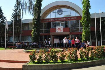 An der Politechnischen Universität Nicaraguas (UPOLI) wird nach fünfmonatiger Pause wegen der heftigen Proteste wieder unterrichtet