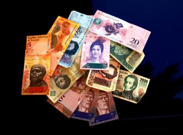 Der Bolívar in Venezuela soll ein paar Nullen verlieren
