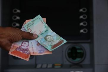 """Am 20. August wurde in Venezuela die neue Währung """"Souveräner Bolívar"""" (Bolívar Soberano, BsS) eingeführt"""