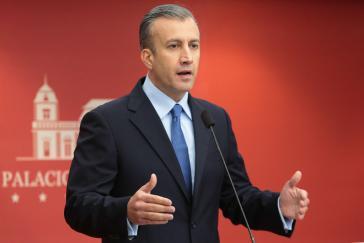 Venezuelas Vizepräsident für Wirtschaft, Tareck el Aissami