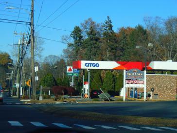 Citgo-Tankstelle in Rocky Hill im US-Bundesstaat Connecticut