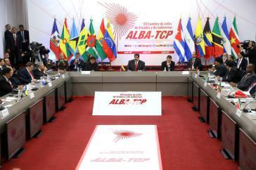 """Alba-Gipfel in Caracas, Venezuela, wandte sich """"gegen die Wiederbelebung der Monroe-Doktrin"""""""