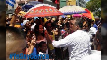 #YoSoyCorrea (Ich bin Correa): Seine Anhänger in Ecuador starten Protestkampagnen gegen die juristische Verfolgung des Ex-Präsidenten. Für den heutigen Donnerstag rufen sie zu Demonstrationen auf
