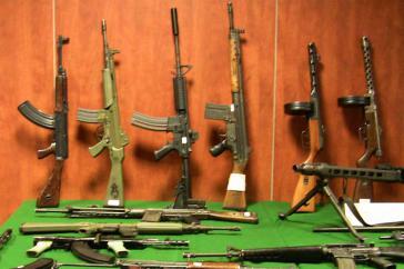 In Honduras sollen verschiedene Regierungen eine Vielzahl an Waffen aufgekauft haben