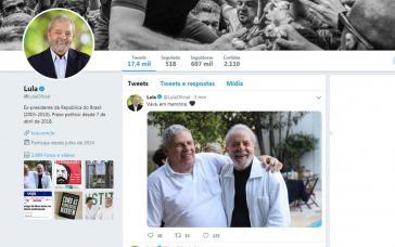 Lula auf Facebook