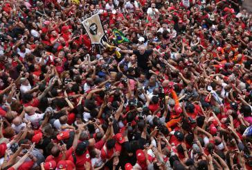 Lula in Brasilien wieder in Freiheit