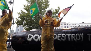 """""""Das Mercosur-Abkommen zerstört das Klima"""""""