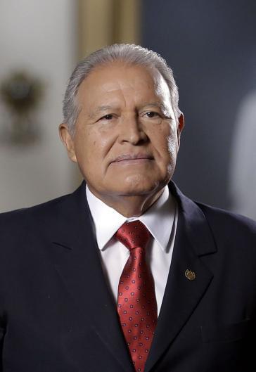 Der amtierende Präsident von El Salvador, Salvador Sánchez Cerén, tritt im Juni dieses Jahres ab