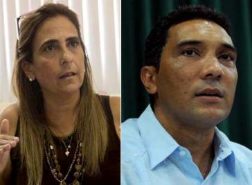 Neu im Amt: Finanzministerin Meisi Bolaños Weiss und Transportminister Eduardo Rodríguez Dávila
