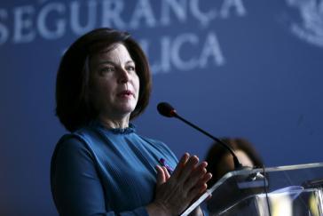 Die ehemalige Generalstaatsanwältin Raquel Dodge war bis Ende Oktober im Amt und startete offiziell die Ermittlungen gegen die Polizei von Rio de Janeiro.