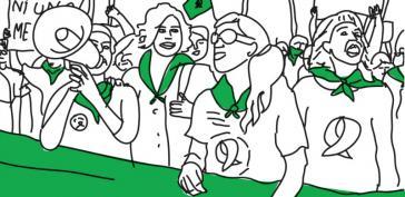 Das grüne Tuch – Symbol der Abtreibungsbefürworter:innen in Lateinamerika
