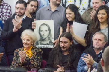 Bei der Pressekonferenz in Buenos Aires
