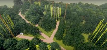 Das Mega-Projekt wird etwa 70 km von Manaus im Amazonas realisiert. Animation: Universität São Paulo. (screenshot)