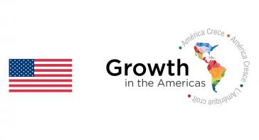 """Logo der US-Regierung für das Projekt """"Wachstum in den Amerikas"""""""