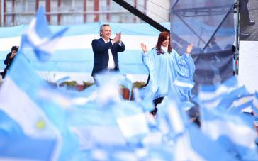 Alberto Fernández ist zum Präsidenten von Argentinien gewählt worden, Cristina Kirchner wird Vize-Präsidentin