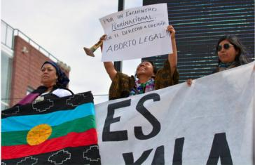 """Mapuche fühlen sich von der Kongressbezeichnung """"nacional"""" nicht repräsentiert und fordern eine Änderung in """"plurinacional"""""""