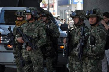 Die Verantwortlichkeit für die Sicherheit auf den Straßen Mexikos soll der neu zu schaffenden Nationalgarde übertragen werden