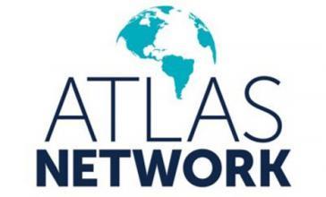 Logo des Atlas Network. Gegenwärtig sind ihm 475 Organisationen in über 90 Ländern angeschlossen