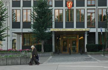 """Mit """"vorbereitenden Kontakten"""" hatte Norwegens Außenministerium die Sondierungen vorbereitet"""