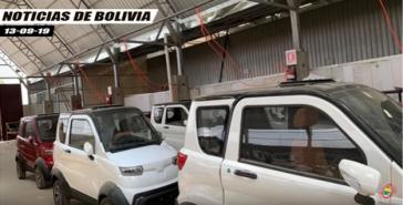 Die Elektroautos sollen bald auf Boliviens Strassen fahren