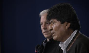 Nach massiver Gewalt der Opposition zurückgetreten: Boliviens Präsident Evo Morales