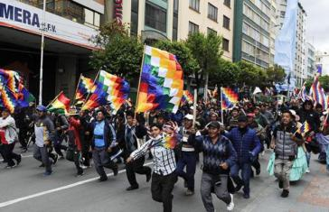Die Proteste gegen den Putsch in Bolivien reißen nicht ab