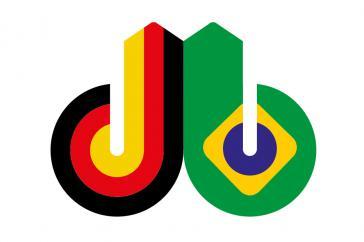 Der Bundesverband der Deutschen Industrie (BDI) und sein brasilianischer Partnerverband CNI organisieren seit über 30 Jahren jährlich die Deutsch-Brasilianischen Wirtschaftstage (Logo)