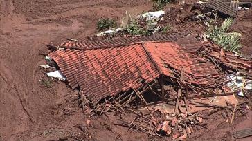 Am 25. Januar brach in der Nähe der Kleinstadt Brumadinho ein Damm eines Rückhaltebeckens für die Erzschlammreste der Mine Córrego do Feijão