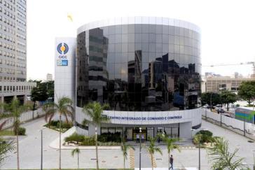 Mit einem Rundgang im Centro Integrado de Comando e Controle (CICC) in Rio beginnt die Geschäftsanbahnungsreise der deutschen Delegation