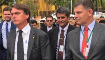Brasiliens Präsident Jair Bolsonaro und sein geschasster Vertrauter, Minister Gustavo Bebianno