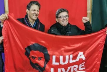 Mélenchon bei Lula