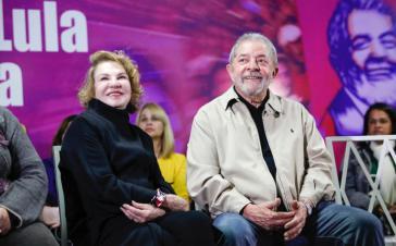 Lula da Silva und seine Ehefrau Marisa Leticia bei einer Veranstaltung im Jahr 2016. Staatsanwälte verhöhnten die Erkrankte und verspotteten Lulas Trauer nach ihrem Tod