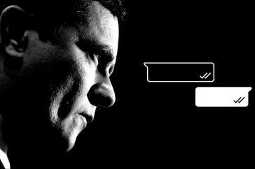 Justizminister Sergio Moro feiert mit der Festnahme einen vermeintlichen Erfolg. Ein Ablenkungsmanöver?