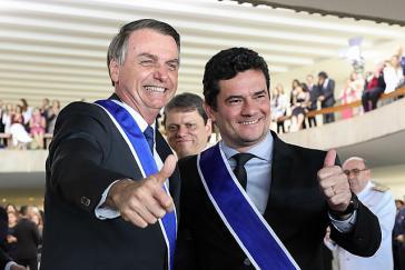 Sergio Moro nach seiner Ernennung zum Justizminister durch Präsident Jair Bolsonaro