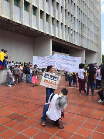"""""""Mutige Frauen"""" in Cali, Kolumbien"""