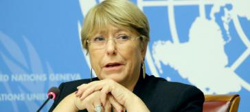 Besorgt um Chile: Michelle Bachelet