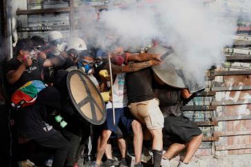 Der Kampf für eine souveräne Verfassung in Chile geht weiter. Demonstration am 27. Dezember in Santiago
