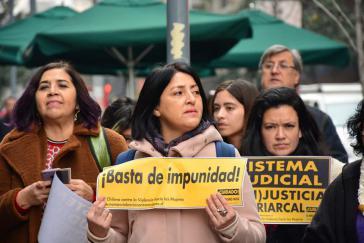 Die Proteste der Frauen richten sich auch gegen die andauernde Straflosigkeit bei Frauenmorden