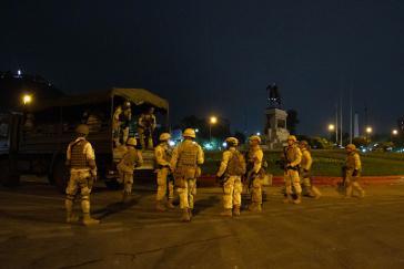 Soldaten in Chile: Bei Protesten wurden bislang offiziell 15 Demonstranten getötet