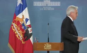 Soll gehen: Chiles Präsident Sebastián Piñera