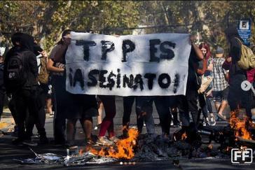 Das Freihandelsabkommen TPP 11 hat in Chile außerhalb des Parlaments wenig Freunde
