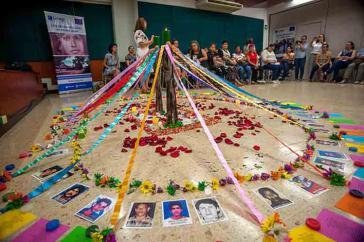Angehörige der Verschwundenen während des bewaffneten Konfliktes fordern Aufklärung