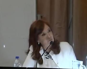 Die Verteidigungsrede Kirchners vor den Gericht in Argentinien musste heimlich aufgenommen werden