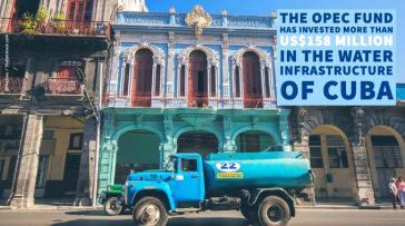 Opec-Fonds unterstützt Infrastrukturprojekte für die Wasserversorgung in Kuba