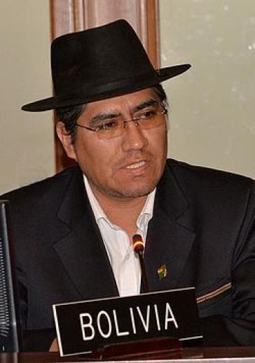 Außenminister Diego Pary vertritt Bolivien in den Gesprächen mit der EU über ein Handelsabkommen